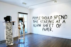 Transcript | CHARLIE SMITH LONDON | Installation view (2)