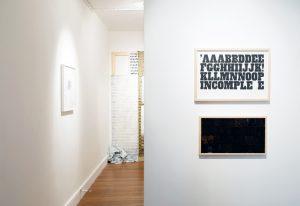 Transcript | CHARLIE SMITH LONDON | Installation view (9)
