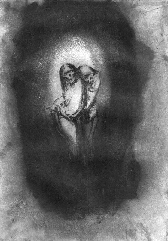 Josef Ofer | Untitled 133 | 2017 | Ink on paper | 29.7x21cm