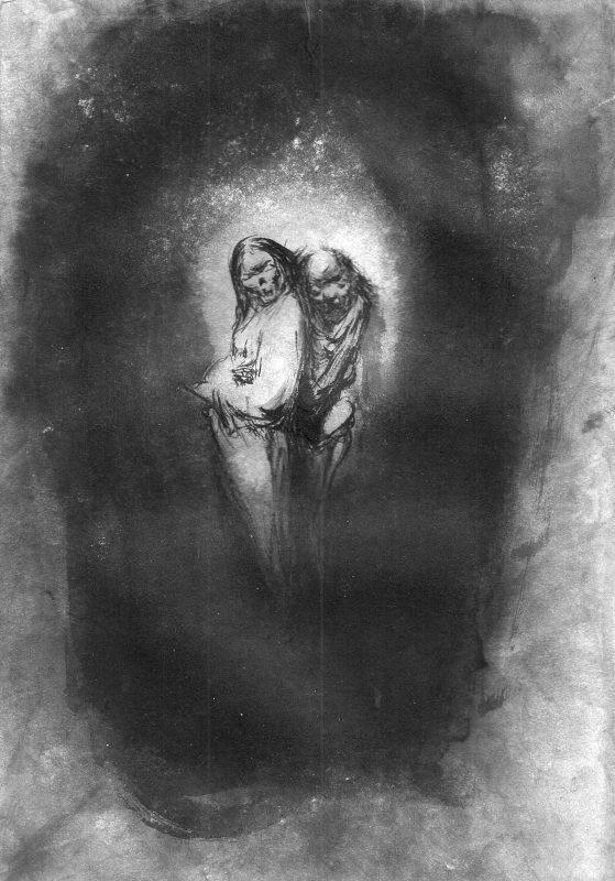 Josef Ofer | Untitled 134 | 2017 | Ink on paper | 29.7x21cm