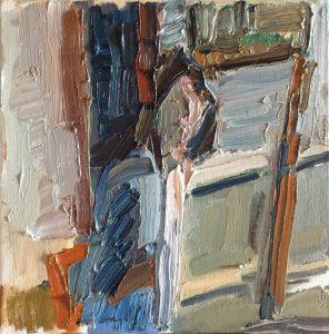 Matthew Collings | Emma Biggs Painting | 2018 | Oil on canvas | 30x30cm