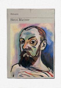 Hugh Mendes | Obituary: Henri Matisse | 2018 | Oil on linen | 35x25cm
