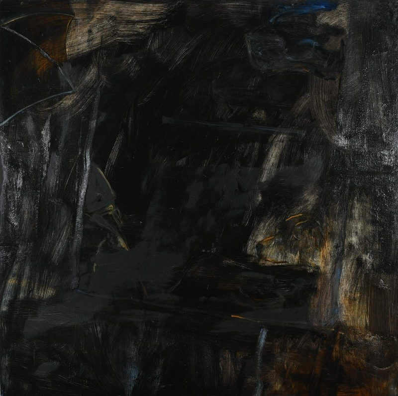 Peter Ashton Jones | A Storm in a Teacup | 2018 | Oil on canvas | 127x127cm