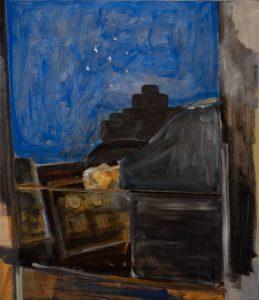 Peter Ashton Jones   The Carriage   2018   Oil on canvas   48x42cm