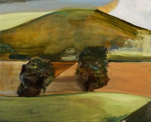 Peter Ashton Jones | The Gap | 2018 | Oil on canvas | 41x52cm