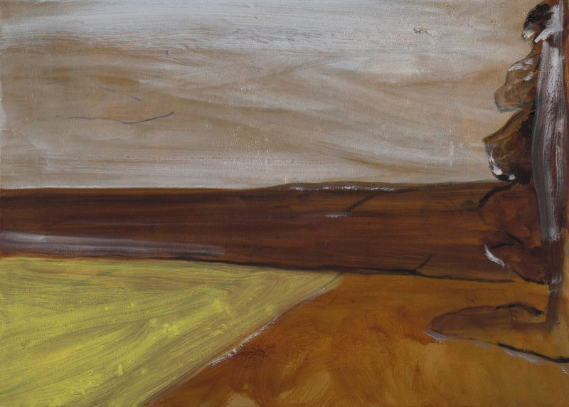 Peter Ashton Jones | The Shadow | 2018 | Oil on canvas | 40x56cm