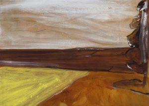 Peter Ashton Jones   The Shadow   2018   Oil on canvas   40x56cm
