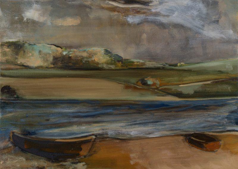 Peter Ashton Jones | The Tide | 2018 | Oil on canvas | 40x56cm