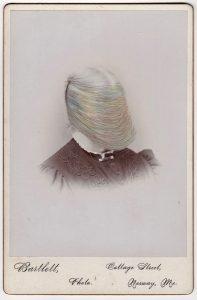Tom Butler   Bartlette   2018   Gouache on Albumen print   16.5×10.8cm