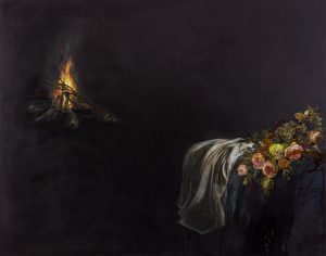 Emma Bennett | Wait Until Winter | 2018 | Oil on canvas | 110x140cm