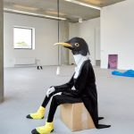 Teal Griffin | 5 years | 2018 | Textiles, insulation foam, wood, steel, plastic and cardboard box | Dimensions variable