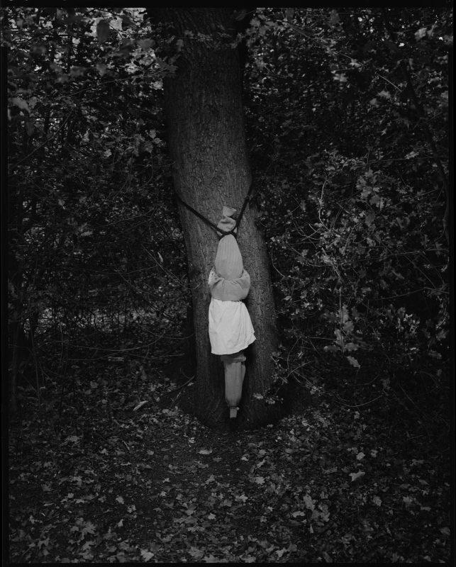 Danny Treacy   Rituals (Forest), Fig.17   2018   Silver gelatin print (ed.9)   25x20cm