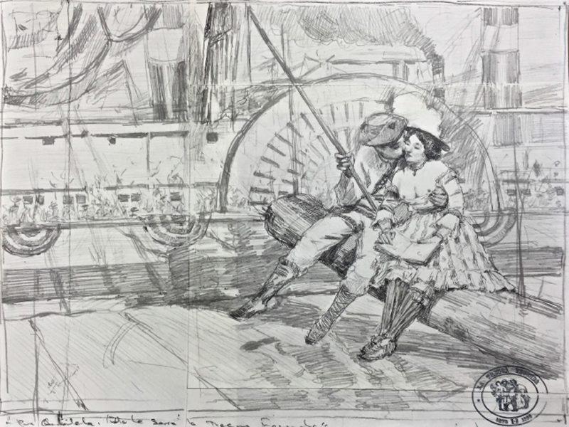 Ariel Cabrera Montejo | From the series La Tregua Fecunda | 2016 | Graphite on paper | 29.5x39cm