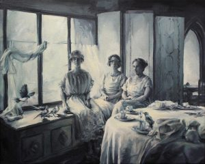 Concha Martínez Barreto   S/t 17   2019   Oil on canvas   40x50cm