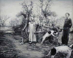 Concha Martínez Barreto   S/t 18   2019   Oil on canvas   40x50cm