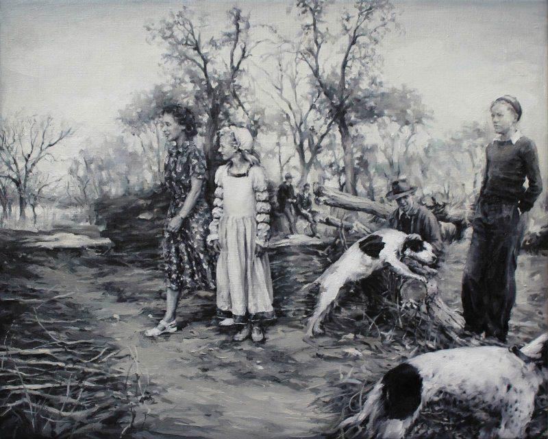 Concha Martínez Barreto | S/t 18 | 2019 | Oil on canvas | 40x50cm