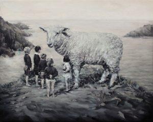 Concha Martínez Barreto   S/t 8   2017   Oil on canvas   40x50cm