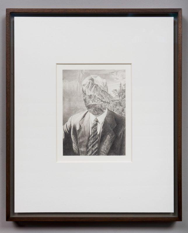Tom Gallant | A.E.R Wetterhorn | 2014 | Pencil on paper | 52×42.5cm
