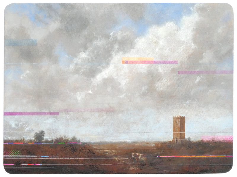 Sean Molloy | Ben-Day Cow | 2019 | Oil on panel | 22.5×30.5cm