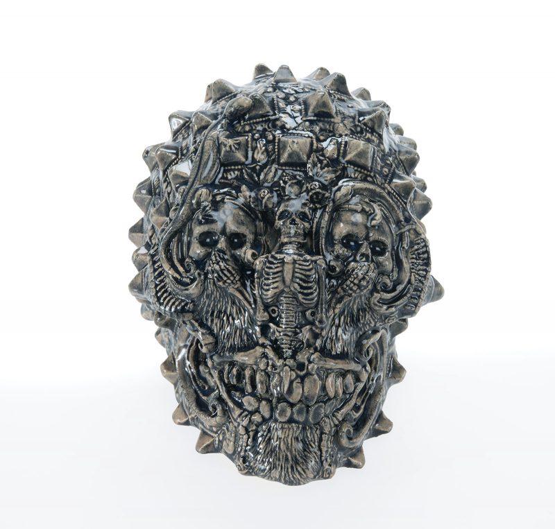 Carolein Smit | Vanitas | 2019 | Ceramic | 21(h)x20(w)x28(d)cm