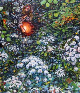 Dominic Shepherd | Circle Round the Sun | 2019 | Oil on linen | 102x92cm