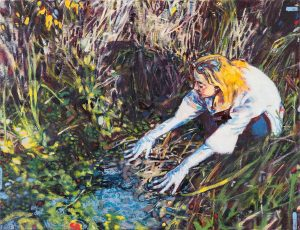 Dominic Shepherd | The Source | 2019 | Oil on linen | 44x58cm