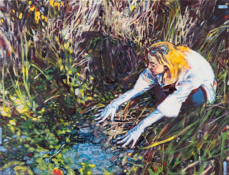 Dominic Shepherd   The Source   2019   Oil on linen   44x58cm