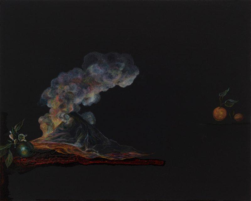 Emma Bennett | Pure Possibility | 2019 | Oil on oak panel | 20x25cm