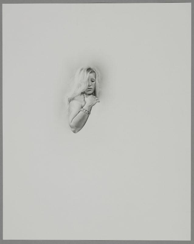 Barry Thompson   Folk Icon II   2019   Pencil on paper   50x40cm