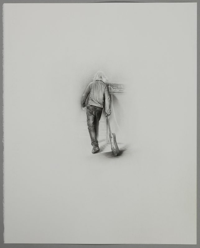 Barry Thompson | Orpheus | 2019 | Pencil on paper | 50x40cm