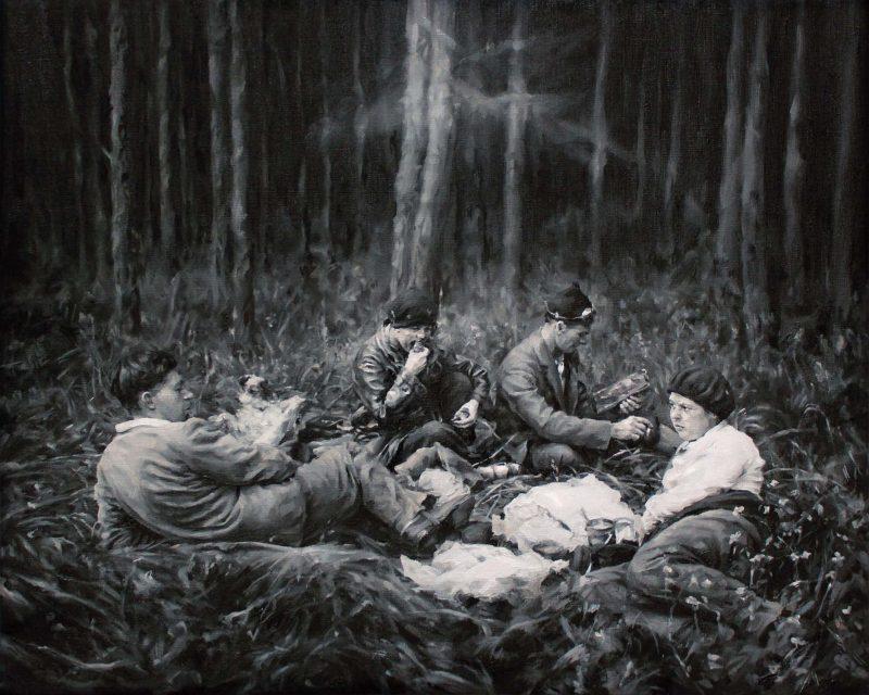 Concha Martinez Barreto | Far From Me | 2019 | Oil on linen | 40x50cm