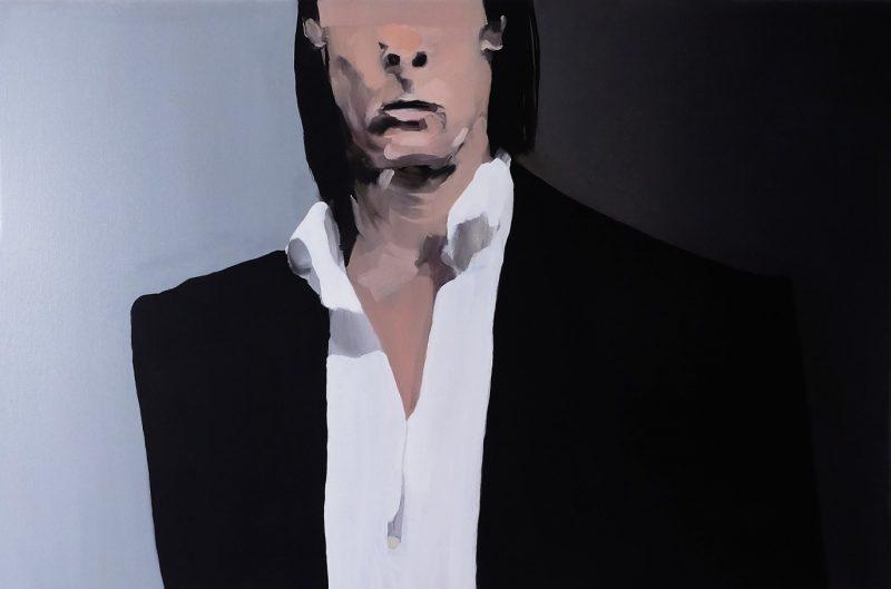 George Stamatakis | I'm transforming, I'm vibrating, I'm glowing… | 2019 | Oil on canvas | 60x90cm