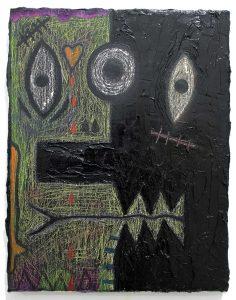 Alex Gene Morrison | Fight! | 2019 | Oil on canvas | 45x35cm