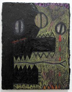 Alex Gene Morrison | Finish Him! | 2019 | Oil on canvas | 45x35cm
