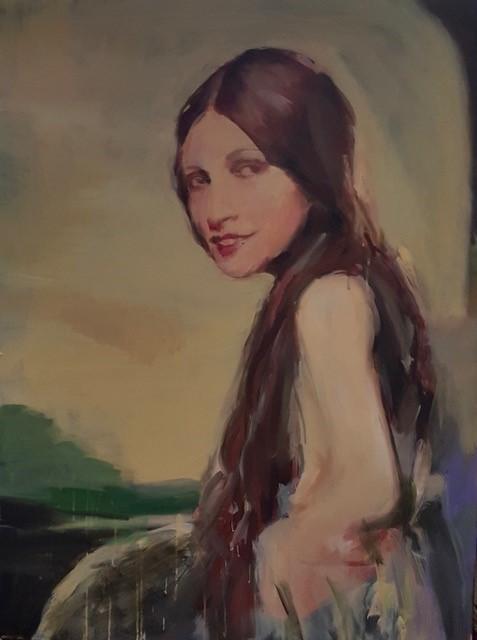 Geraldine Swayne | Naples Yellow | 2020 | Oil and acrylic on canvas | 102x76cm