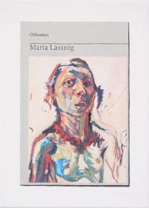 Hugh Mendes | Obituary: Maria Lassnig | 2019 | Oil on linen | 35x25cm