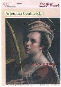 Hugh Mendes | Gentileschi: the new | 2020 | Ink, pencil, coloured pencil on digital print | 28.5×19.7