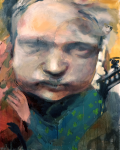 Geraldine Swayne | Recycled Dust | 2020 | Oil on canvas | 152x122cm