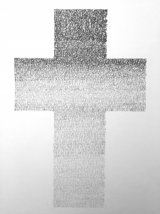 Graham Dolphin | Mercy Seat (Nick Cave) | 2020 | Graphite on paper | 29.7x21cm