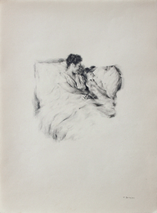 Concha Martínez Barreto   Fragments. Maternity   2020   Graphite on paper   27x20cm