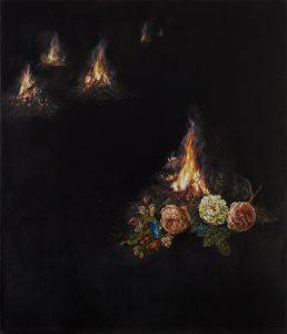 Emma Bennett | Small truths | 2020 | Oil on canvas | 72x62cm