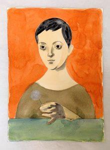 Richard Wathen | Taraxacum | 2021 | Watercolour on paper | 36x26cm