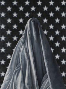 Richard Moon | Guston II | 2020 | Oil on linen | 79x59cm