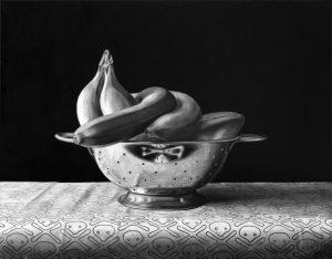 Richard Moon | Relic III | 2016 | Oil on linen | 35x45cm