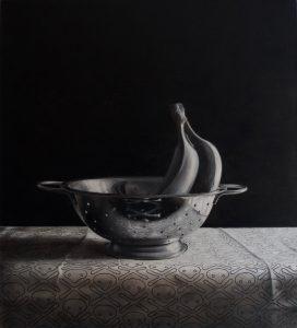 Richard Moon | Relic IV | 2016 | Oil on linen | 55x50cm