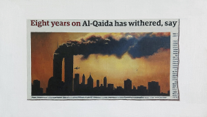 Hugh Mendes | Eight Years On… | 2009 | Oil on linen | 20x35cm