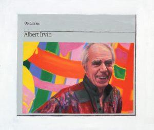 Hugh Mendes | Obituary: Albert Irvin | 2016 | Oil on linen | 30x35cm