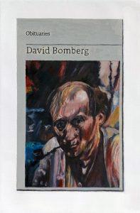 Hugh Mendes | Obituary: David Bomberg | 2018 | Oil on linen | 30x20cm