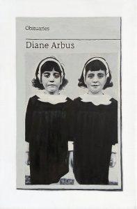 Hugh Mendes | Obituary: Diane Arbus | 2018 | Oil on linen | 30x20cm