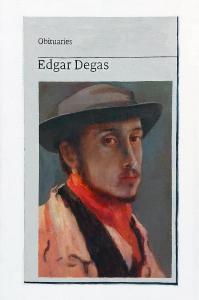 Hugh Mendes | Obituary: Edgar Degas | 2021 | Oil on linen | 30x20cm